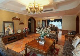 复古混搭客厅设计美图