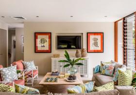 温馨田园客厅设计美图