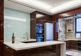 大气新古典厨房设计美图