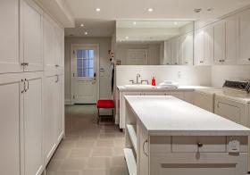 纯白简约厨房设计美图
