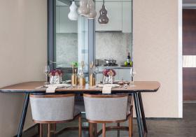 简洁现代餐厅装修设计