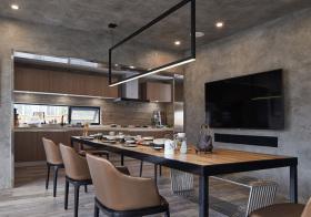 大气现代餐厅设计美图
