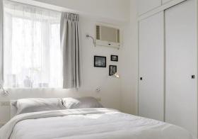 纯白简约卧室设计美图
