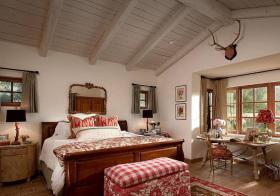 可爱田园卧室设计美图