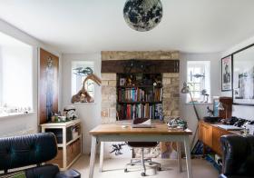 创意美式书房装修设计
