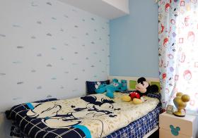 可爱现代儿童房设计美图