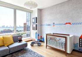 可爱简约儿童房设计美图