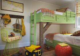 多彩美式儿童房设计美图