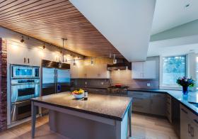 时尚混搭厨房吊顶设计