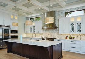 创意美式厨房吊顶设计