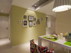 黄色混搭风格餐厅设计效果图