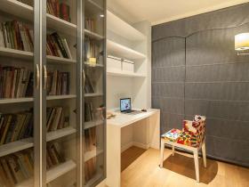 现代风格书房设计效果图片