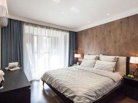 实木精致化简约卧室设计