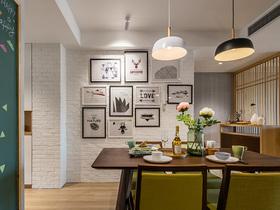简约现代小清新森系餐厅设计