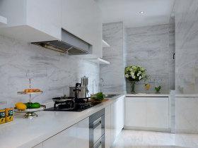 简约大理石精致厨房设计