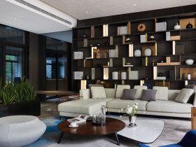 简欧微奢客厅设计