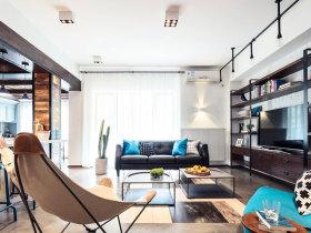 简洁现代客厅效果图