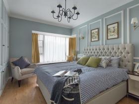 经典美式现代精致卧室装修设计