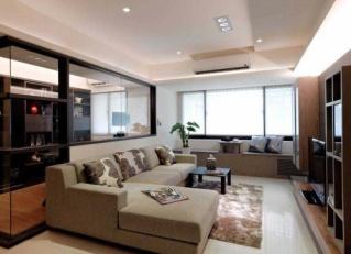 两室两厅 现代 半包7