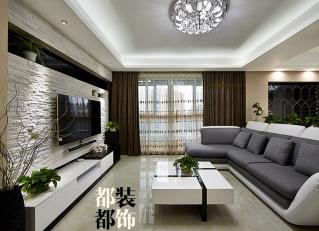 两室两厅 现代 半包9