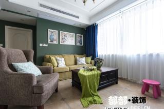 两室两厅 美式 半包13.5