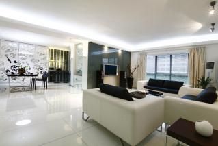两室两厅 现代 半包6