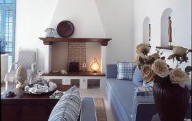 雅致地中海客厅设计