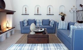 简雅地中海客厅装饰设计