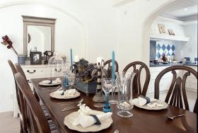 美式优雅精致化餐厅设计