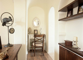 美式经典复古书房设计