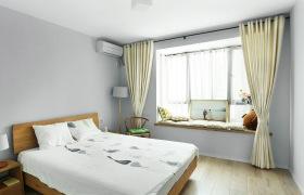 简约留白清新自然卧室设计
