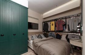 简约现代男性卧室装修设计
