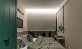 男性化简约妥帖卧室装修设计