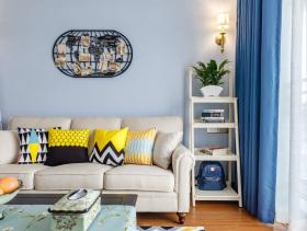 现代简约舒适客厅装修设计