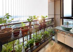 阳台绿植装饰设计