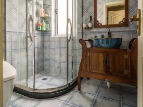 复古美式风卫生间设计