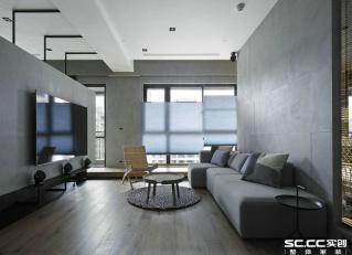 三室一厅 现代 全包18