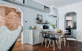 北欧精致性冷淡餐厅装修设计