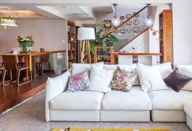 美式复式客厅装修设计