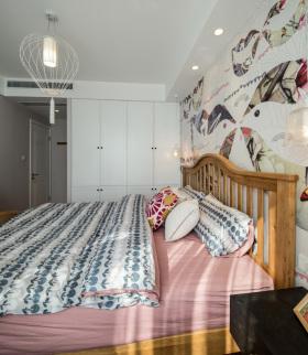 简约风格化精致卧室装修设计