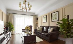 经典雅致复古客厅装修设计