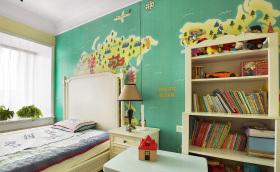 多彩优质典雅儿童房设计
