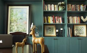 复古典雅精致书房设计