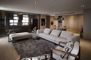 两室两厅 现代 全包12