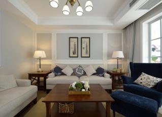 两室两厅 美式 半包7.1