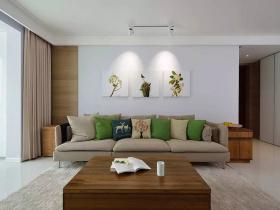 素雅清新客厅装修设计