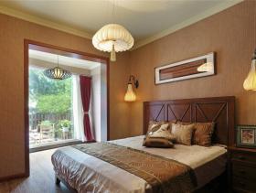 古典新中式卧室设计