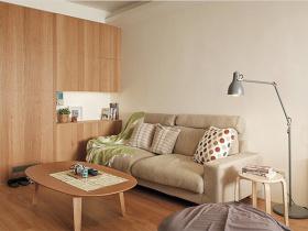 原木风现代客厅