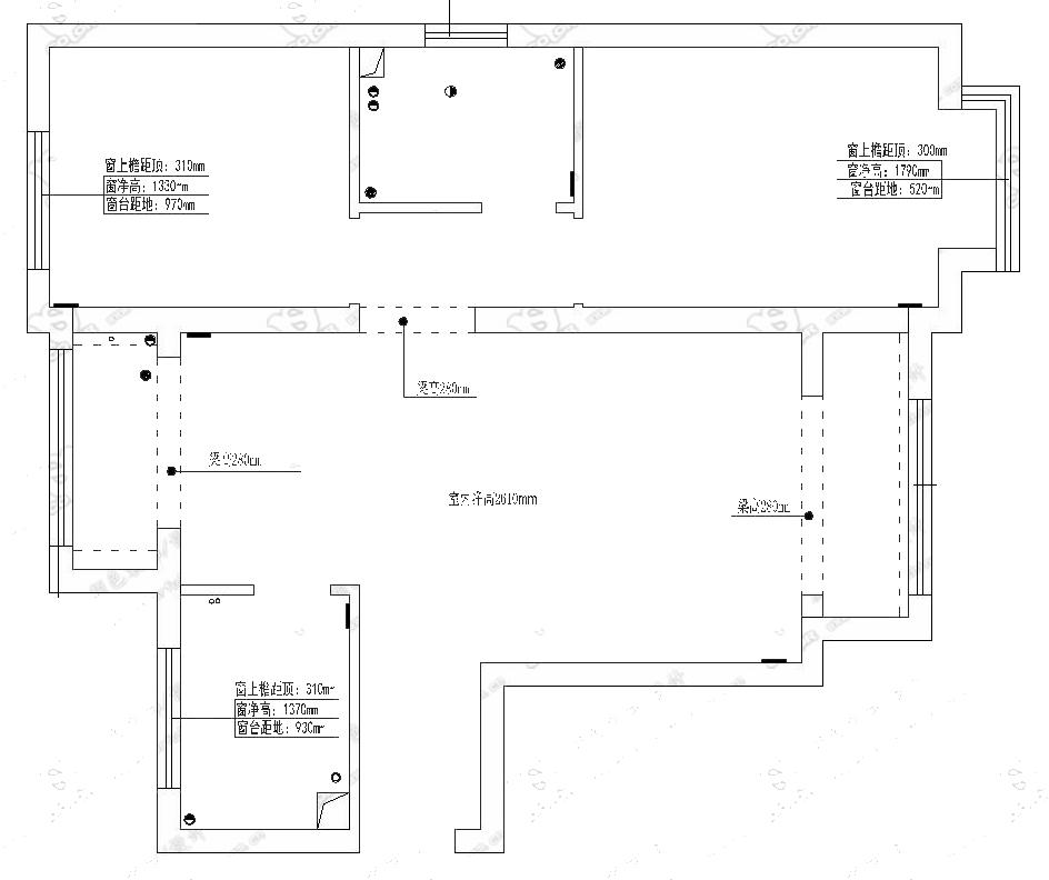 两室两厅中式半包10万
