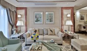 美式典雅别致客厅装修设计